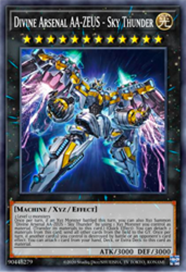Imagen de Divine Arsenal AA-ZEUS - Sky Thunder - PHRA-EN045 - Secret Rare 1st Edition